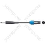 Classic 6.3mm Jack to Spk Plug Speaker Leads - - 3.0m - SPK-J300