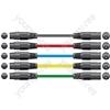 Classic XLRF to XLRM Leads - M-F 1.5m Black - XF-XM150BK
