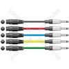 Classic XLRF to 6.3mm Mono Jack Leads - XLR-Jack 1.5m Black - XF-M6J150BK