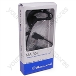 Two Way Radio Headset Earphone with Boom Microphone - MA30-L