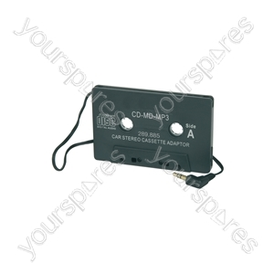 Car Cassette Player Adaptor - CD for standard radio/cassette