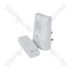 Plug Through Wireless Door Chime - DB300