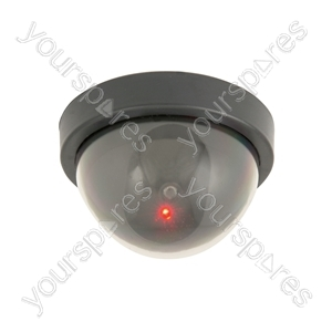Dummy Dome Camera with 1 Red LED