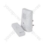 Plug Through Wireless Door Chime