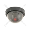 Dummy Dome Camera - with 1 Red LED