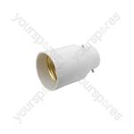 Lamp Socket Converter, B22 to E27