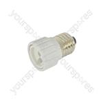Lamp Socket Converter E27 - GU10