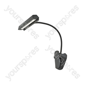 Portable LED Clip On Reading Lamp - LC9 music/reading