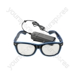 LED Light-up Funglasses - Blue