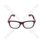 LED Light-up Funglasses - Pink