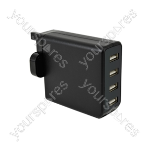 Quad USB Charger - USB-UK448