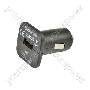 COMPACT USB IN-CAR CHARGER 2100mA