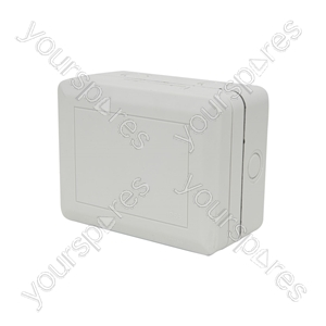 Weatherproof 2 Gang Outdoor Socket