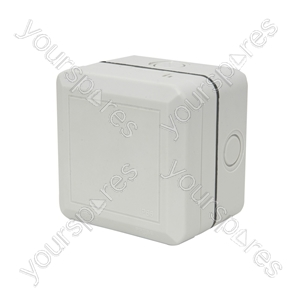 Weatherproof 1 Gang Outdoor Socket