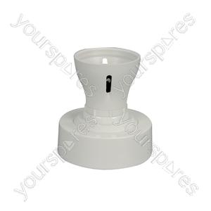 Ceiling Batten Lampholder - WA37 lampholder, 100W