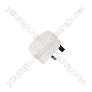 European Converter Plug - - White - ECP5AW