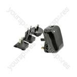 Travel Dual USB Switch-mode Power Supply - 2 x 1000mA - USB-M220