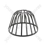 Decorative Lamp Cages - - Dome - Black - LC-18D