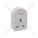 Anti-surge UK Socket Adaptor - Plug