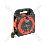 4-Gang 15m Extension Reel with Thermal Cut Out - Cut-Out