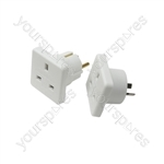 Travel Adaptor Twin Pack - UK to Europe & UK to Australia - Adaptors