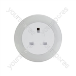 Plug Through LED Night Light with Colour Select
