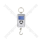 Compact Digital Luggage Scales - Silver - WH-A05