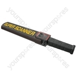 Handheld Metal Detection Security Wand - MDW-01