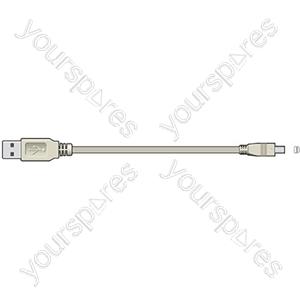 ITX208 USB A plug to 4-pin Mitsumi plug, 1.8m - Blister