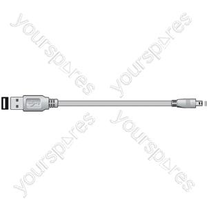 ITX212 USB A plug to 4-pin Fuji plug, 1.8m - Blister