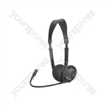 MH30 Multimedia Headset with Boom Microphone