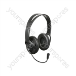 MH40 USB Multimedia Headset with Microphone