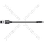 USB Digital Camera Lead - Lead, to 8-pin mini plug, 1.8m