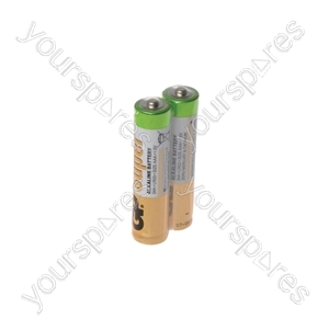 GP Alkaline Batteries Bulk Pack - AAA 40pcs