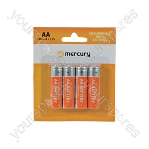 AA 2800mAh NiMH battery/4