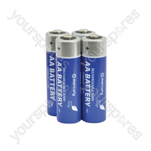 AA 2200mAh Eco NiMH Rechargeable battery/4