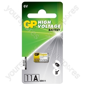 11A 6V alkaline battery - 1 piece blister