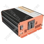 Soft Start Modified Sine Wave Inverters - 24Vdc 600W - IMS600-24