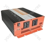 Soft Start Modified Sine Wave Inverters - 12Vdc 1500W - IMS1500-12
