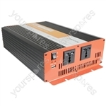 Soft Start Modified Sine Wave Inverters - 24Vdc 2500W - IMS2500-24