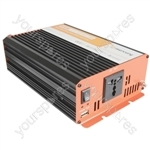 Soft Start Pure Sine Wave Inverters - 24Vdc 600W - IPS600-24