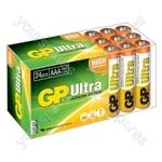 Ultra Alkaline Batteries In Easy Store Upvc Box - AAA 24pk