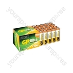 AA 40pk Ultra alkaline batteries in easy store UPVC Box