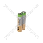 GP Alkaline Batteries Bulk Pack - AAA 40pcs