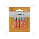 NiMH Rechargeable Batteries - AA 1300mAh battery/4 - AA13