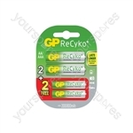 GP Recyko+ 2 AA + 2 AAA Special Offer Pack - 2AA 2AAA