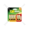 GP Ultra Alkaline Batteries (8 + 4) - AA (8+4)