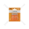 NiMH Rechargeable Batteries - AAA 1100mAh battery/4 - AAA11