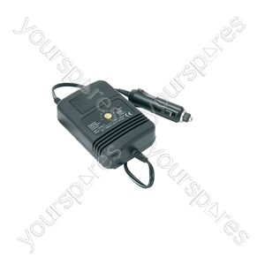 Regulated DC/DC car adaptor - 2000mA