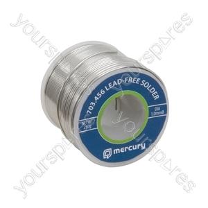 Lead-free Solder - solder, 1.0mmØ, 250g, 37.5m reel